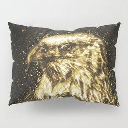 Golden American Eagle Pillow Sham