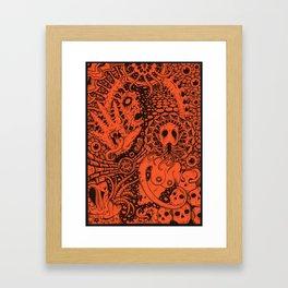 Enslaved Framed Art Print