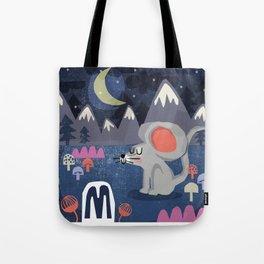 """""""M"""" Tote Bag"""