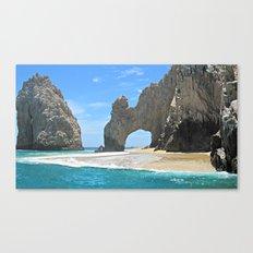 Los Arcos, Lands End Arch, Mexico Canvas Print