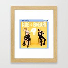 Birds in the Boneyard: Album Cover Framed Art Print