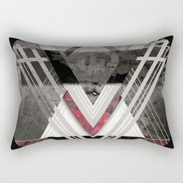 Circle Of Illumination Rectangular Pillow