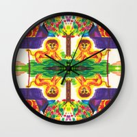 narnia Wall Clocks featuring Narnia by Foxfocus