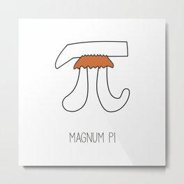 Magnum PI Metal Print