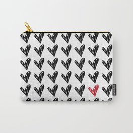 HEARTS ALL OVER PATTERN II Carry-All Pouch