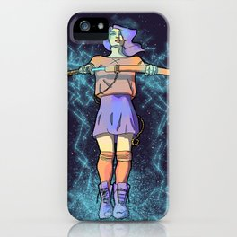 Kira Yukimura paints the Sky with Lightning iPhone Case