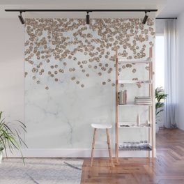 Fantaisie marble rose gold Wall Mural