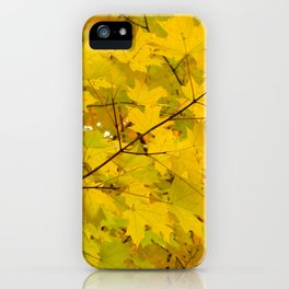 Thick of Fall iPhone Case
