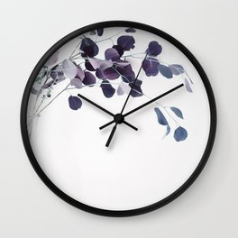 botanical Vibes IV Wall Clock
