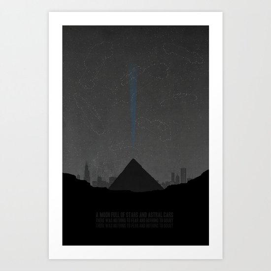 Pyramid Song Art Print