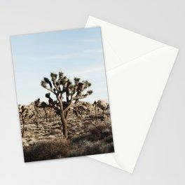 Joshua Tree National Park at Sunset Stationery Cards