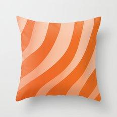 Salmon Sashimi Throw Pillow