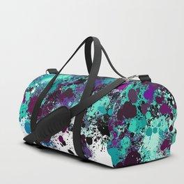 paint splatter on gradient pattern bbtpb Duffle Bag