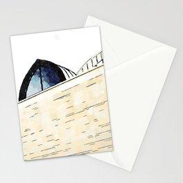 Sanctuary of San Francesco di Paola: modern building Stationery Cards