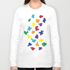 rainbow crystals Long Sleeve T-shirt