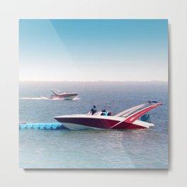 Boats twins Metal Print