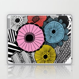 Heart in Flowers, inspired by Marimekko Laptop & iPad Skin