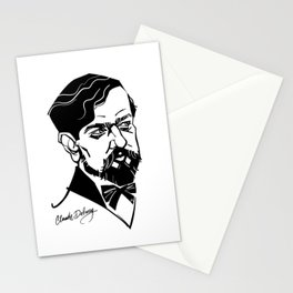 Claude Debussy Stationery Cards