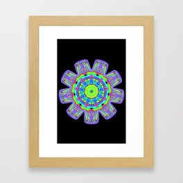Abalone Shell Framed Art Print