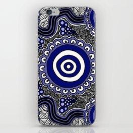 Authentic Aboriginal Artwork - Connections iPhone Skin