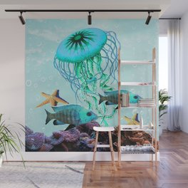 Jelly Fish Wall Mural