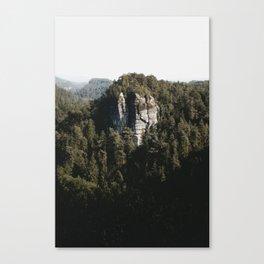 Saechsische Schweiz Canvas Print