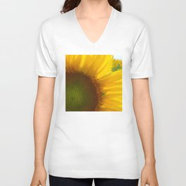 Sunflower Daydream Unisex V-Neck