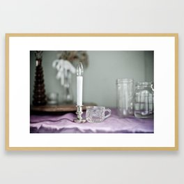 For the Woman Alone Framed Art Print