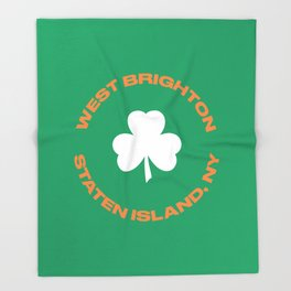 West Brighton, SI Throw Blanket