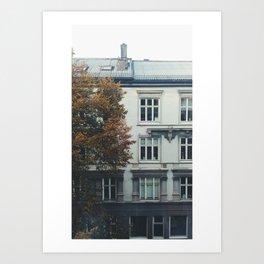 Grünerløkka Art Print