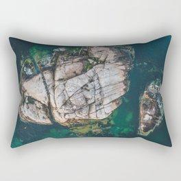 Island America Flag Rectangular Pillow