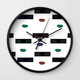 Seenoevil Wall Clock
