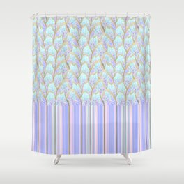 Hyper Fish-scale Shower Curtain