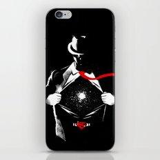 KAL-EL iPhone & iPod Skin