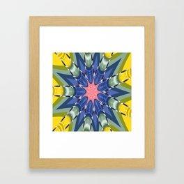 CC No.5 Pinwheel Framed Art Print