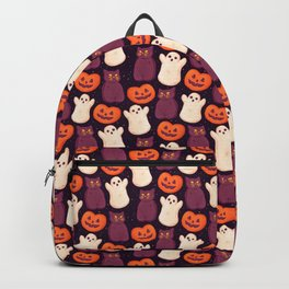 Halloween Marshmallows Backpack