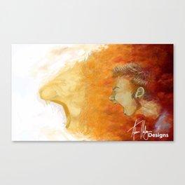 Boldness Enhanced Canvas Print