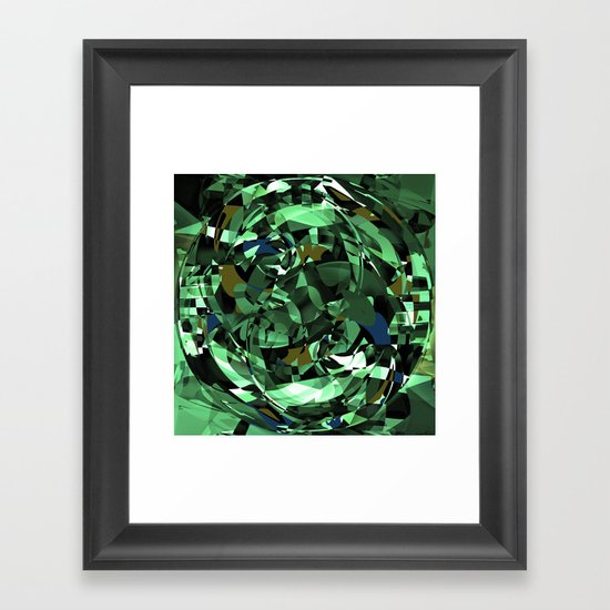 - dazzle spaceships - Framed Art Print