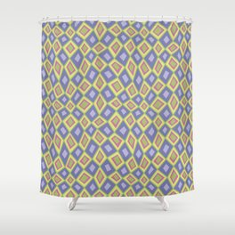 Diamonds are Forever-Fairytale Colors Shower Curtain