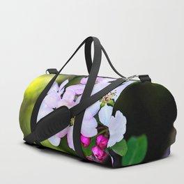 Beautiful Crab Apple Flowers Duffle Bag