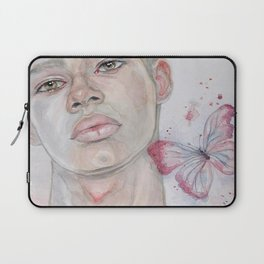 The boy and the butterfly Laptop Sleeve