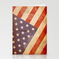 patriotic Stationery Cards featuring Patriotic  by Cloz000