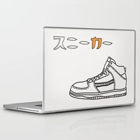 sneaker Laptop & iPad Skins featuring Sneaker by YTRKMR