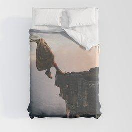 Falling Duvet Cover