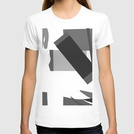 Matisse Inspired Black and White Collage T-shirt