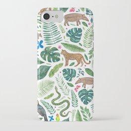 Jungle/Tropical Pattern iPhone Case