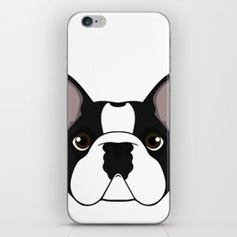 Frenchie - Brindle Pied iPhone Skin