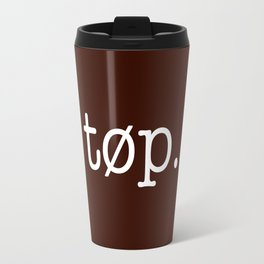 TØP Simple Text Travel Mug