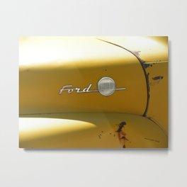 Past is Present 5 Metal Print