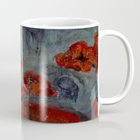 imagerybydianna Mugs featuring somnia by Imagery by dianna